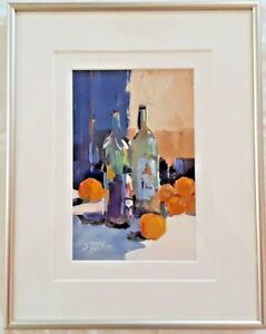 JERRY SMITH (b. 1944), Original Acrylic Still Life, Indiana Artist
