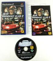 Jeu Playstation 2 PS2 VF  Midnight Club II  avec notice  Envoi rapide et suivi