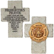 """Firefighter's Prayer"" Mini Cross (14025) 6.5"" High"