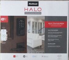 Kwikset Halo Wi-fi Enabled Smart Lock Halifax Touchscreen 1445789 Satin Nickel