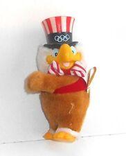 Vintage 1984 Los Angeles Olympics ~ EAGLE SAM ~ Curtain Clip Toy - (T14)