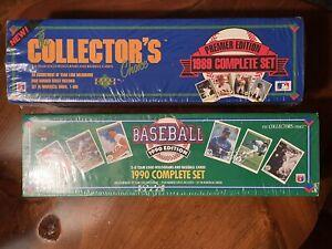 1989 & 1990 Upper Deck Baseball Factory Sealed Sets . Ken Griffey Jr Rookie.