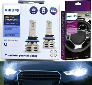 Philips Ultinon LED G2 Canceller H11 Fog Light Two Bulbs Upgrade Replace Lamp