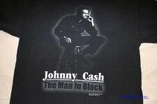 JOHNNY CASH 'MAN IN BLACK' 2004 RARE TRUE VINTAGE T-SHIRT * Unisex M