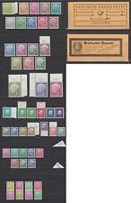 Bund - Postfrische HEUSS Kollektion, mit u.a. Mi. 177-196 komplett, MH 4 y, usw.