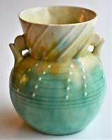 Vintage Art Deco Beswick 418 Ceramic Pottery Vase 15cm tall 10cm wide at rim
