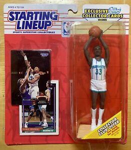 1993 ROOKIE STARTING LINEUP - SLU - NBA - ALONZO MOURNING - CHARLOTTE HORNETS