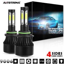 2x LED Headlight Bulb Kit Hb4 9006 6000K 1900W Fog light for Acura TL 2002-2006