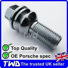 WHEEL BOLT PORSCHE 911 996 997 991 (OE STYLE) ALLOY LUG NUT STUD 28MM LONG [TQ0]