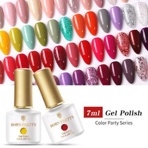 BORN PRETTY 7ml Nail Art Soak Off UV Smalto Gel per Unghie Polish UV Gel Polish