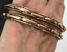 Vintage Lambournes Armbands Sleeve Holders Peaky Blinder Banker Garter Gold 49