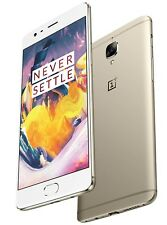 "OnePlus 3T 64GB Gold A3003 (FACTORY UNLOCKED) 5.5"" Full HD , 16MP , 6GB RAM"
