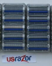 10 Schick Hydro 3 Razor Blades Hydro3 Refills Cartridges Fit Hydro 5 Silk Shaver
