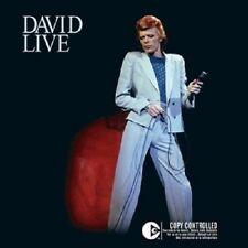 """DAVID BOWIE """"DAVID LIVE"""" 2 CD NEUWARE"""