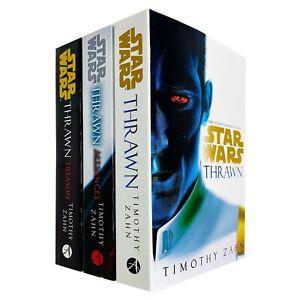Star Wars: Thrawn Series 1 - 3 Books Collection Set by Timothy Zahn  Alliances