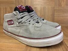RARE🔥 VANS Half Cab City Pack Philadelphia Gray Burgundy Sz 11 Men's Shoes LE