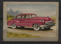 Buick Super 1950 Vintage 1950s Dutch Trading Card No. 113