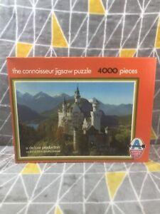 Arrow Games Neuschwanstein Castle Connoisseur 5459 4000 Piece Jigsaw Puzzle Fun