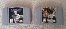 Star wars Shadow of the empire + MLB Ken griffey Jr. Nintendo 64 Game lot