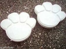 2 NEW Plaster concrete resin abs plastic pawprint  mold C 5500 molds in my store