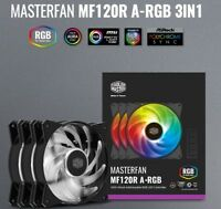 """new"" CoolerMaster  MASTERFAN MF120R ARGB 3in1   -Freeship&Tracking-"