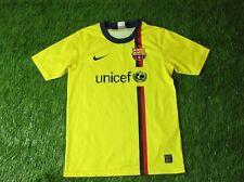 BARCELONA BARCA SPAIN 2008/2010 FOOTBALL SHIRT JERSEY AWAY NIKE ORIGINAL YOUNG L