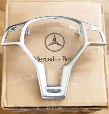GENUINE MERCEDES STEERING WHEEL TRIM AMG PLATE C250 C63 SLK55 65 SL63 E63 CLS63