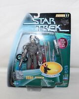 "1997 STAR TREK Warp Factor Series 1 ""BORG"" Action Figure IOP"