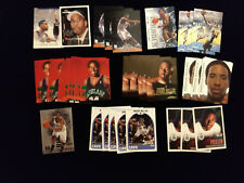 1999-00 ANDRE MILLER Rookie card lot (39) w/Stadium Club, Topps Gallery, Metal