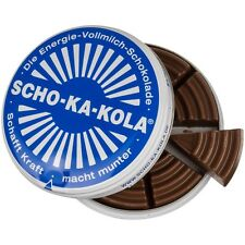 SCHO-KA-KOLA (Schokakola) Milk energy chocolate - 100g tin - Made in Germany