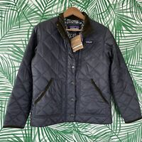 Patagonia Back Pasture Field Jacket Smolder Blue Women's Size XS NWT $159 Retail