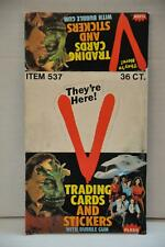 1984 Fleer They're Here V Empty Bubble Gum Vintage Trading Card Box