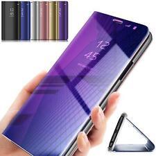 Handy Hülle View Case Samsung Galaxy A50 A70 A80 Flip Cover Schutzhülle Tasche