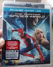 The Amazing Spider-Man 2 (Blu-ray / 3D / DVD, 2014, 3-Disc Set, Plus Digital)NEW