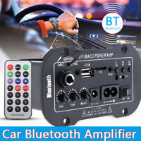220V Digital Bluetooth Stereo Amplifier  HiFi Power Remote Control USB Audio AMP