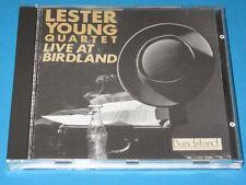Lester Young Quartet / Live At Birdland - CD
