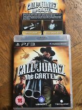 Call of Juarez The Cartel inc Ltd Edition DLC (unsealed) - PS3 UK Release New!
