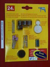 30pc Foreuse diamant Burr bit set 3.17 mm tige Dremel Mini Rotary Perceuse outil
