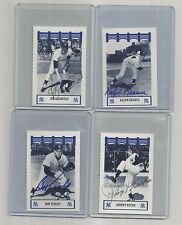 1991-1992-WIZ ny YANKEES of the 50's auto SIGNED ralph BRANCA classics AT&T '92