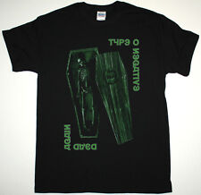 TYPE O NEGATIVE DEAD AGAIN BLACK T-SHIRT PETER STEELE CARNIVORE SEVENTH VOID