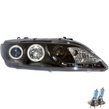 Set fanali MAZDA 6 GY GG BJ. 02-08 LED CCFL ANGEL EYES Chiaro Nero zb3