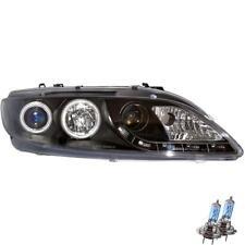 Scheinwerfer Set Mazda 6 GY GG Bj. 02-08 LED CCFL Angel Eyes klar schwarz ZB3