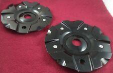Jaagruti Wheels Gloss Black Custom Wheel Center Caps Set of 2 # CAP M-207