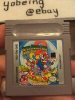 Super Mario Land 2 Six Golden Coins Game Boy gameboy 6 *NEEDS NEW BATTERY* Nice!