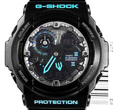 CASIO GSHOCK XL BLACK BLUE ANA DIGI CHRONO ILLUMINATOR WATCH NEW GA300BA-1A