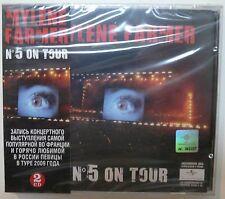MYLENE FARMER - N5 ON TOUR - 2 CDs OBI RUSSIE RUSSE IMPORT
