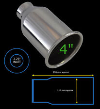 """UNIVERSAL STAINLESS STEEL EXHAUST TAILPIPE 2.25""""/4"""" YFX-0915-4-Opel 2"""