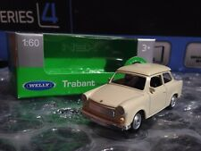 WELLY TRABANT 601 TRABI PIERRETTE 1/60 1:60 1-60 die cast metal model beige