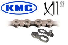 CATENA KMC X11.93 11v  lunga durata MTB e bici da Corsa