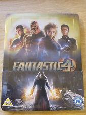Fantastic Four 4 Blu-Ray Steelbook [UK] Region B Marvel Super Heroes Sealed Mint
